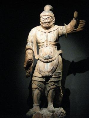 東博出展の大宮神社伝来天王像