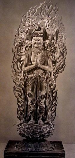 浄瑠璃寺 馬頭観音像