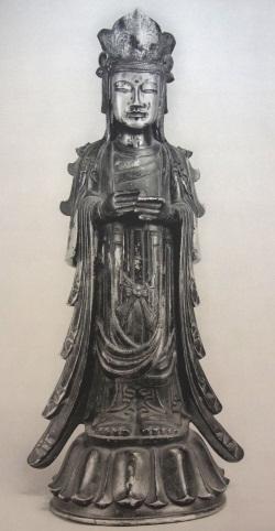 綱封蔵・金銅仏像