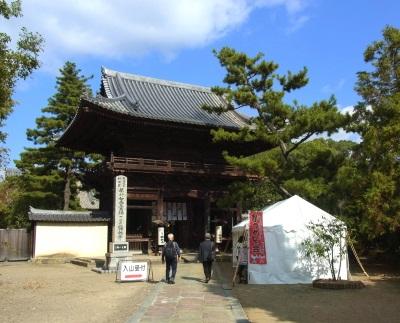 鶴林寺山門
