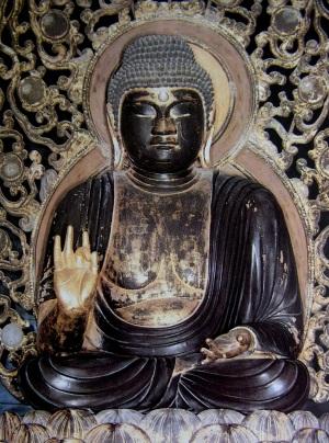 円教寺釈迦如来坐像