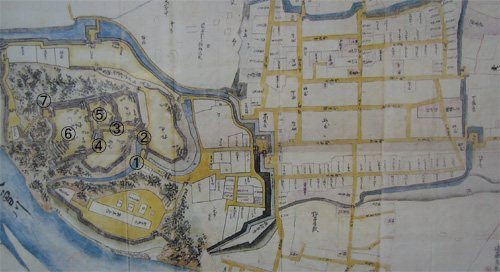 犬山城地図