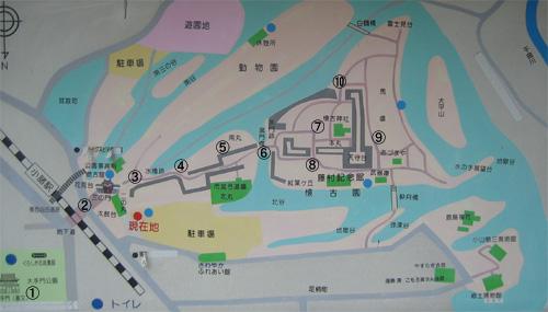 小諸城地図