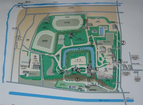 上田城現在地図