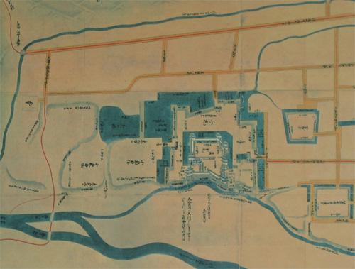 上田城古地図