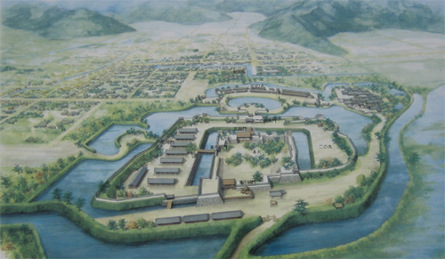 松代城復元図1