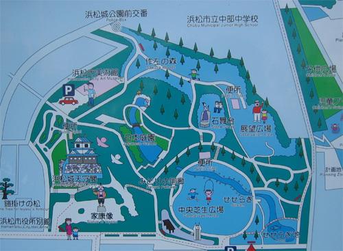 浜松城地図