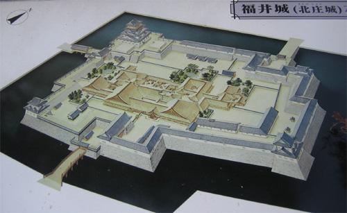福井城想像図