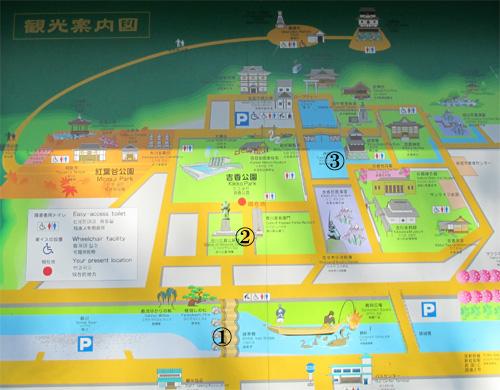 岩国城地図1