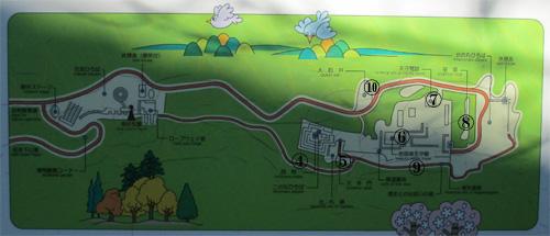 岩国城地図2