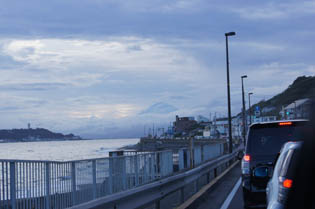 江の島 富士
