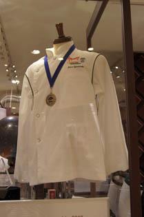 優勝の制服