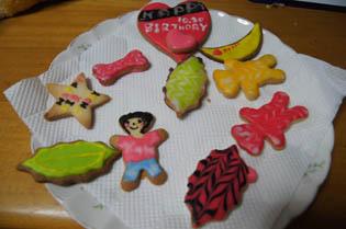 子供のクッキー