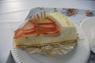 ケーキ 苺