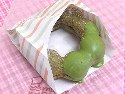 ミスタードーナツ ポン・デ・抹茶ミルククランチ(147円)