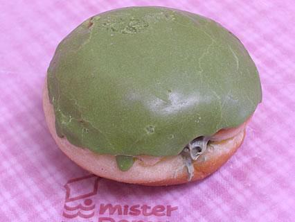 ミスタードーナツ 抹茶あずきクリーム(147円)