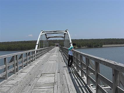 中の島ブリッジパーク(中の島遊歩道橋) 旦那くん
