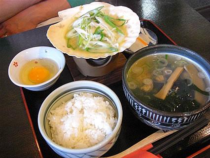 しじみ亭奈良屋 しじみ昼定食(900円)