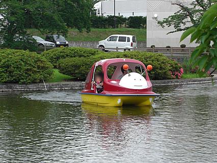 猿賀神社 見晴ヶ池 ボート