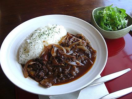 喫茶らあく 本日の定食 ハヤシライス(680円)