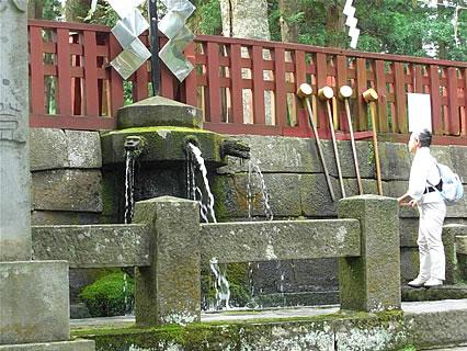 岩木山神社 御神水
