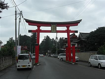 猿賀神社 鳥居