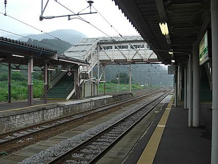 碇ヶ関駅 ホーム-1