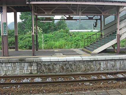 碇ヶ関駅 ホーム-2