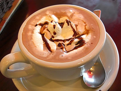 ナガハマコーヒー(NAGAHAMA COFFEE) 広面店 ショコラ(525円)