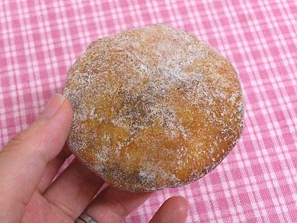 ひまわり洋菓子店 ドーマン(黒こしあん)(63円)