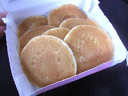 マクドナルド ハッピーセット(プチパンケーキ)