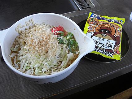 お好み焼 道とん堀 弘前安原店 スナックラーメンもんじゃ(399円)