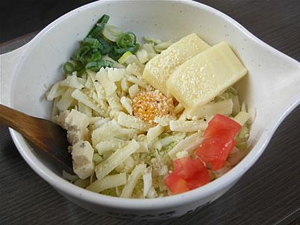 お好み焼 道とん堀 弘前安原店 お好み焼きチーズ4(S)(535円)
