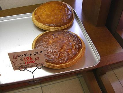 株式会社オルブロート東バイパス店 ベイクドチーズケーキ(126円)