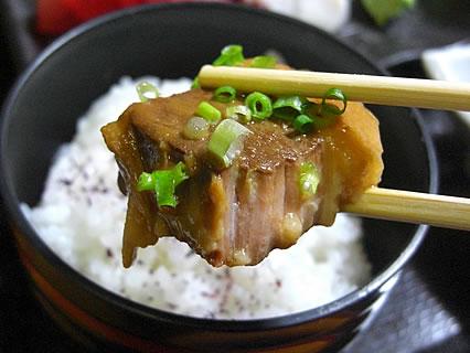 食事処 味喜や 黒豚やわらかみそ角煮定 黒豚やわらかみそ角煮 アップ