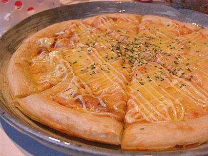 ビッグエコー 弘前店 明太ポテトピザ