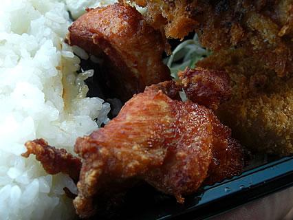 惣菜さとう (日)日替り弁当 鳥から揚げ