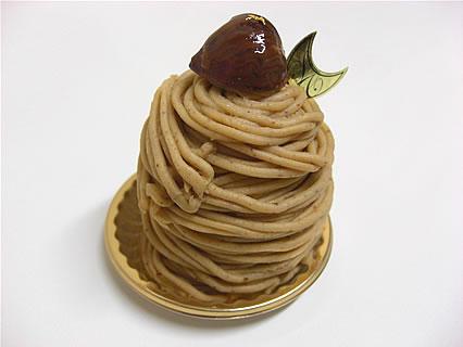 PATISSERIE LE CHOCOLAT(洋菓子工房 ル・ショコラ) モンブラン(347円)