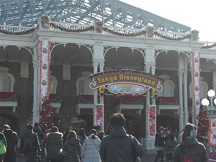 東京ディズニーランド 入り口(昼)