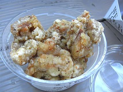 IKSPIARI(イクスピアリ) 柿安ダイニング(Kakiyasu Dining) 若鶏の塩から揚げ