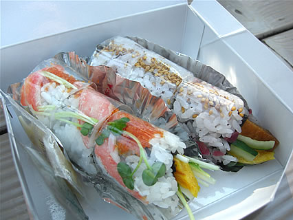 IKSPIARI(イクスピアリ) SUSHI COAST(スシコースト) ロール鮨