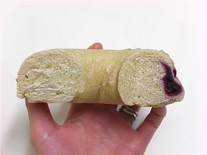 BiOcafe(ビオカフェ) 吸血鬼ベーグル 断面