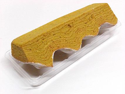 焼き菓子バームクーヘン ねんりん家 大丸東京店 マロンの香る焼きいもクーヘン しっかり芽 側面