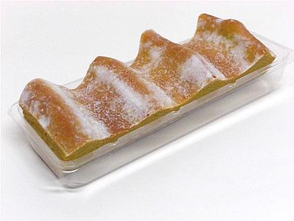 焼き菓子バームクーヘン ねんりん家 大丸東京店 マロンの香る焼きいもクーヘン しっかり芽 中身