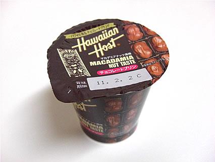北海道乳業 ハワイアンホースト チョコレートプリン