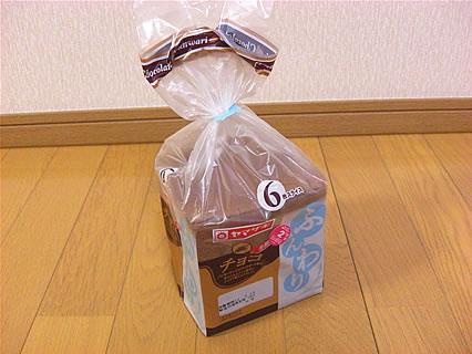 山崎製パン ふんわり食パン(チョコ)