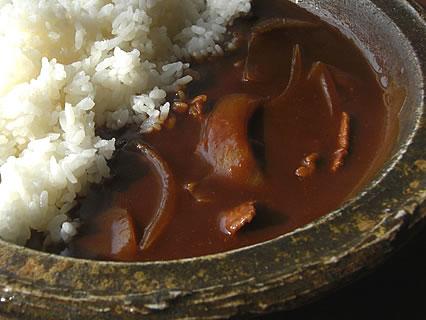 津軽金山焼 レストランPATATA (パタータ) ハヤシライス アップ