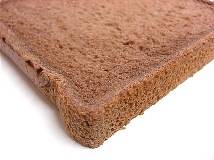 山崎製パン ふんわり食パン(チョコ) 中身 アップ