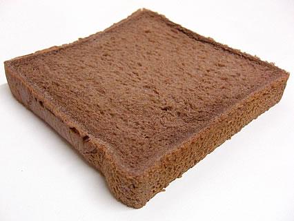 山崎製パン ふんわり食パン(チョコ) 中身