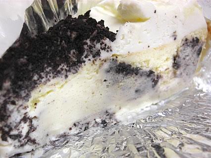 カフェリブ・フォーエバー オレオクッキーチーズケーキ 断面